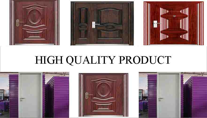 High quality product of steel door Manufacturer in china