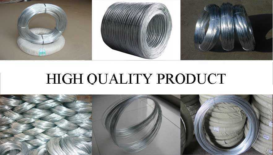 High quality product of Galvanized Steel Wire best product with low price