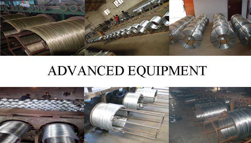 Equipment of Galvanized Steel Wire best product with low price