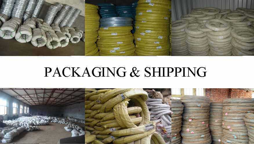 Packaging & Shipping of Steel Wire wholesale from factory