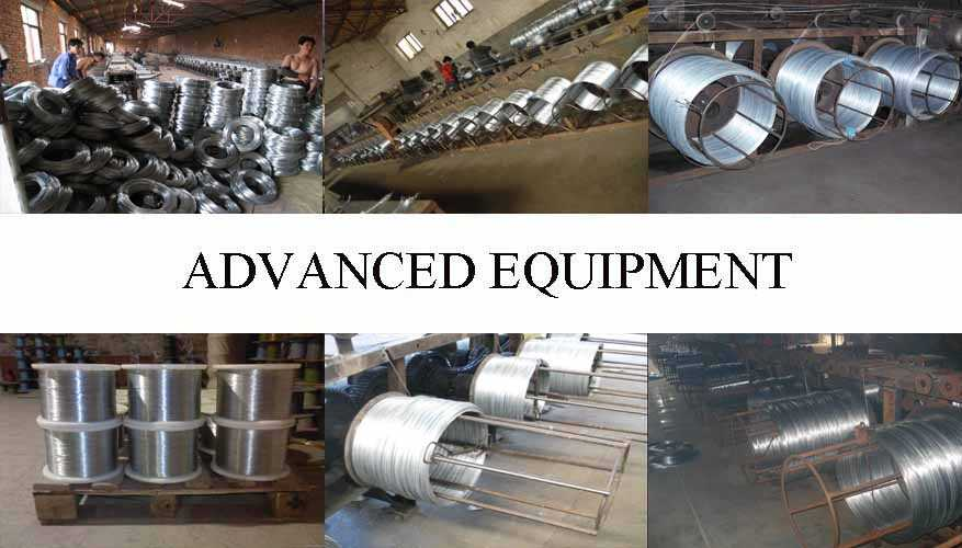 Equipment of Electro Galvanized Steel Wire
