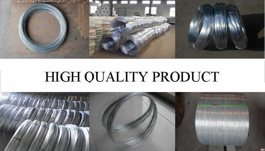 High quality product of Galvanized wire with the best price