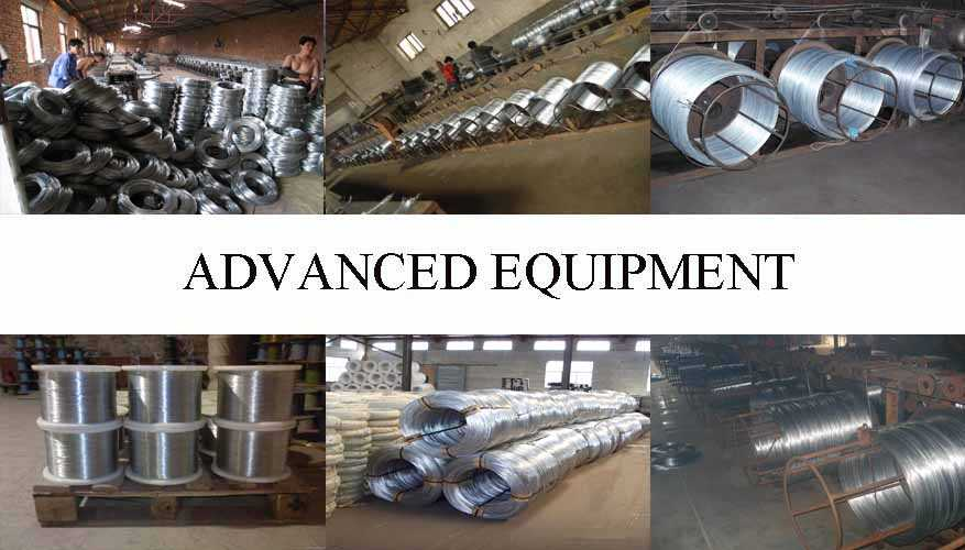 Equipment of Galvanized wire with the best price
