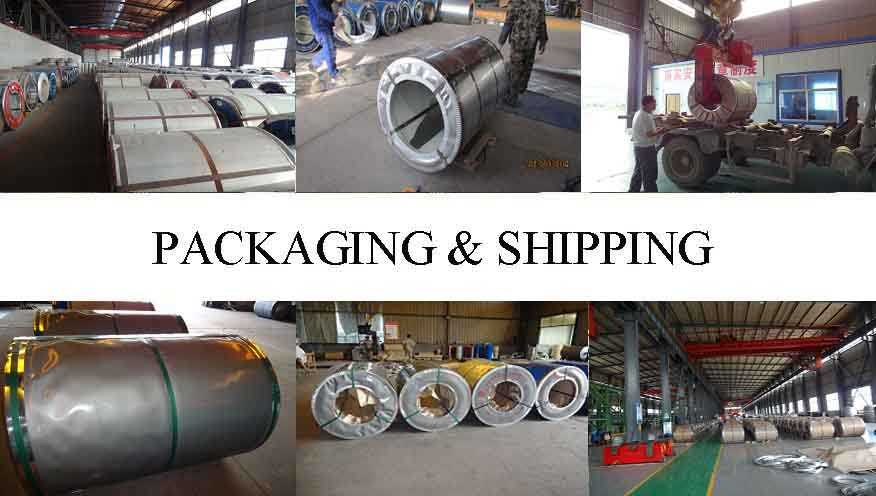 PACKAGING AND SHIPPING OF High Quality PPGI Steel Coil Manufacturer in kenya