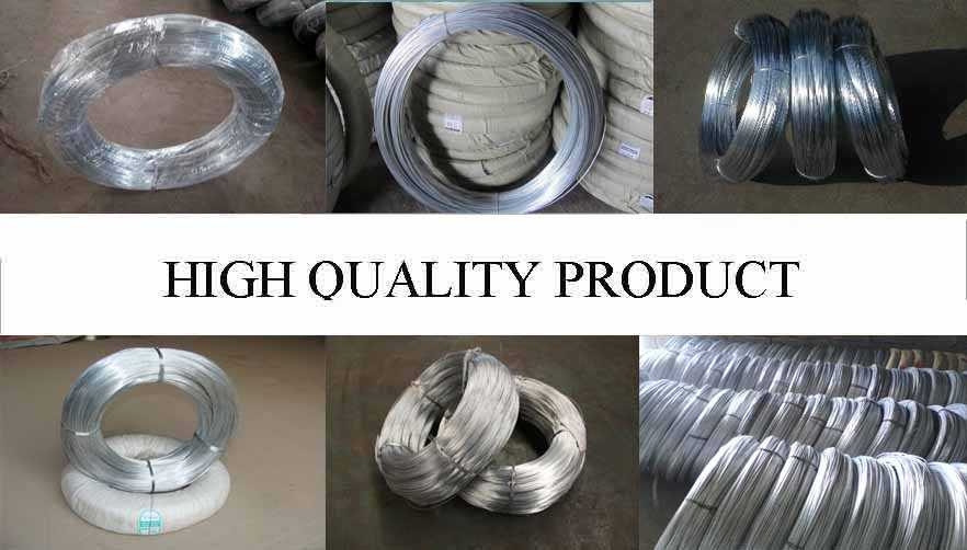 High quality product of Hot dipped galvanized wire