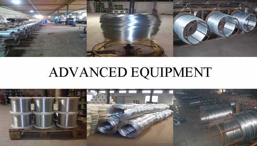 Equipemnt of Hot dipped galvanized wire