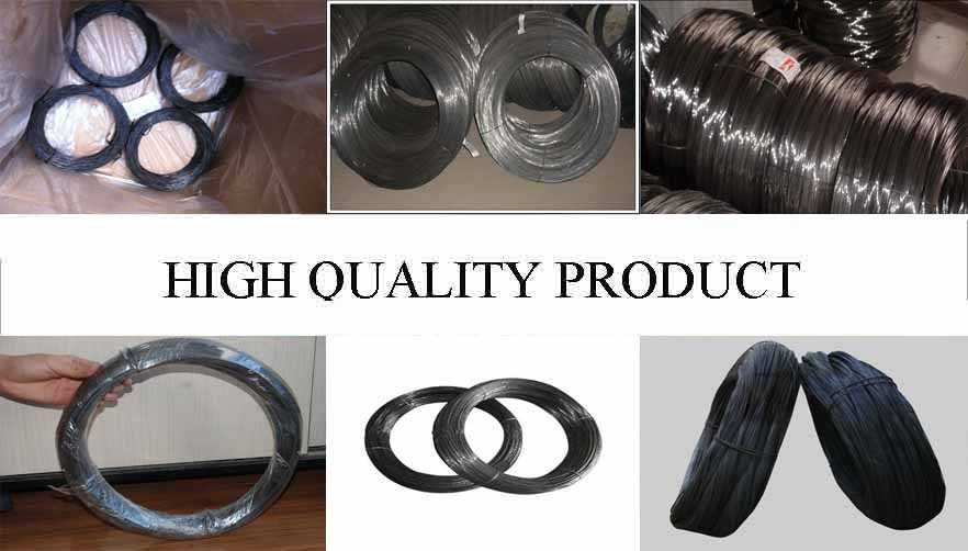 High quality product of black annealed binding wire
