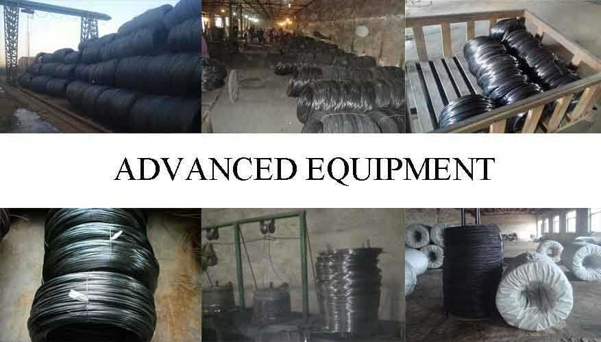Equipment of black annealed binding wire