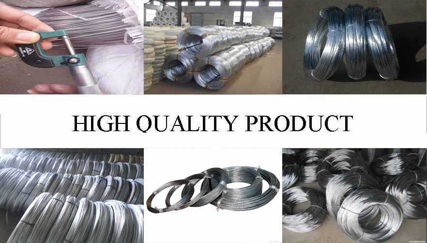 High quality product of Hot sale galvanized wire made in China