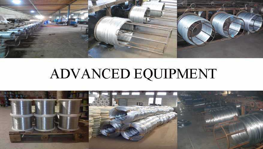 Equipment of Hot sale galvanized wire made in China
