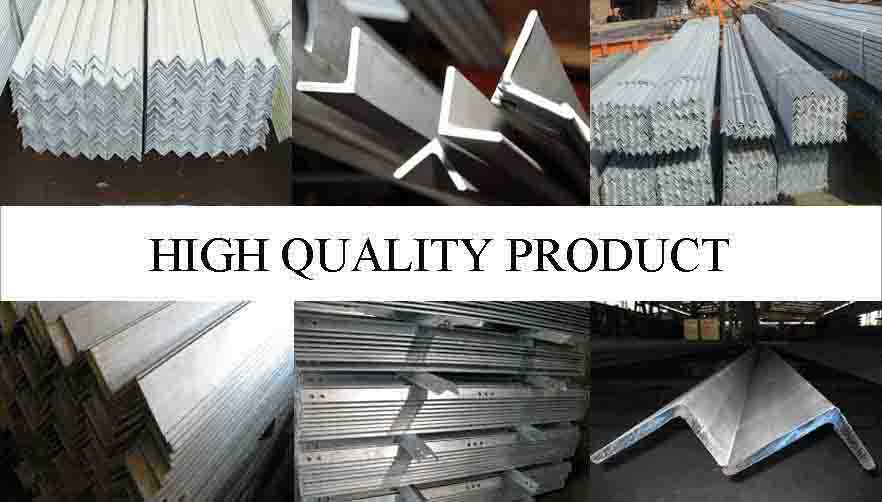 HIGH QUALITY PRODUCT OF High quality Galvanized steel Angle