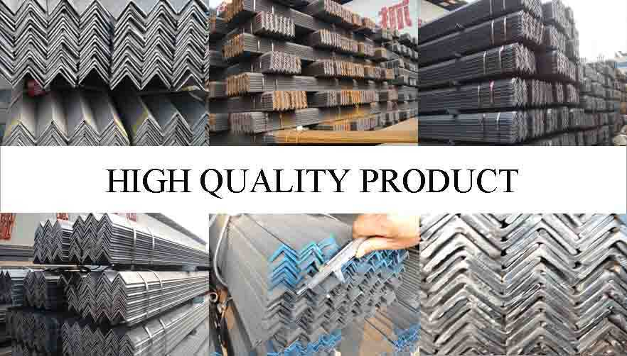 HIGH QUALITY PRODUCT OF Q235 Hot rolled equal steel angle factory