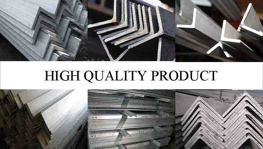 HIGH QUALITY PRODUCT OF High quality steel angle bar in china