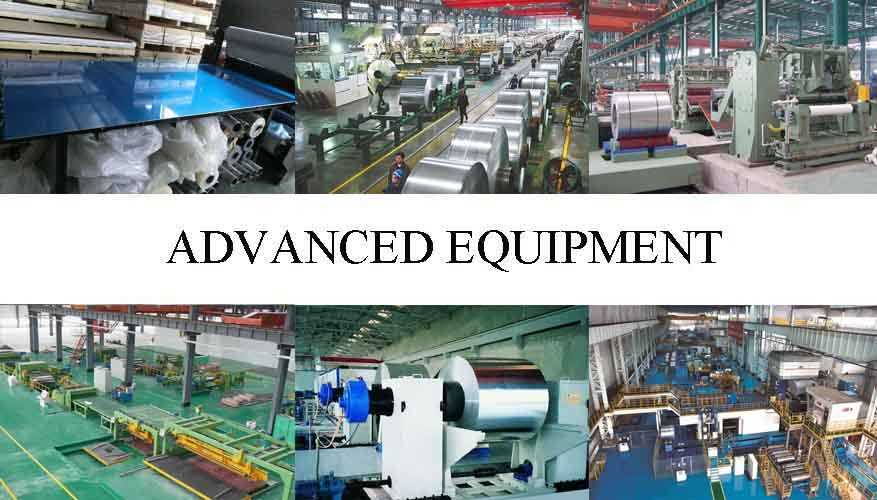 advanced equipment of Aluminum sheet