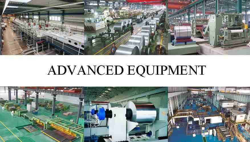 advanced equipment of Aluminum Sheets For Precision Parts