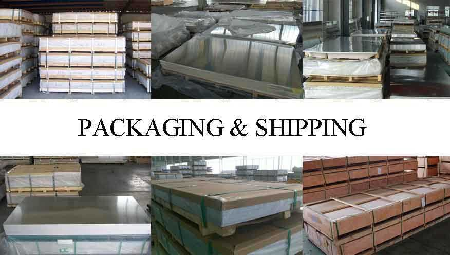 packaging and shipping of Aluminum Sheets For Precision Parts