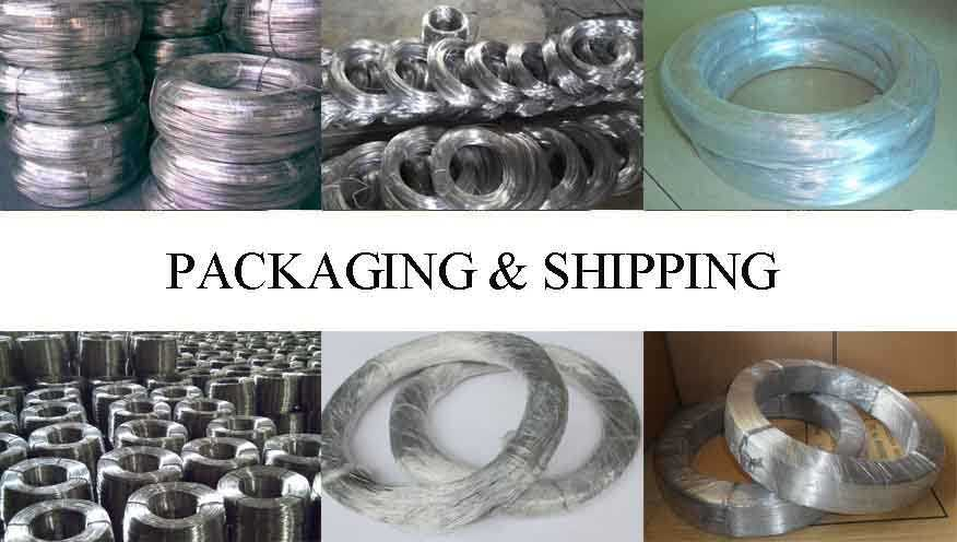 Packaging and shipping of high quality aluminium wire 2mm