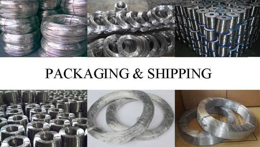 Packaging and shipping of Aluminium wire 4mm in china