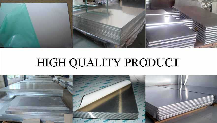 high quality of pure aluminium sheet in China
