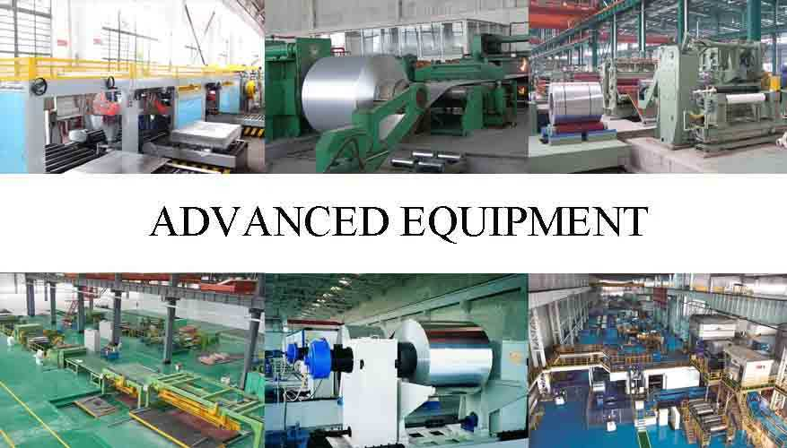 advanced equipment of pure aluminium sheet in China