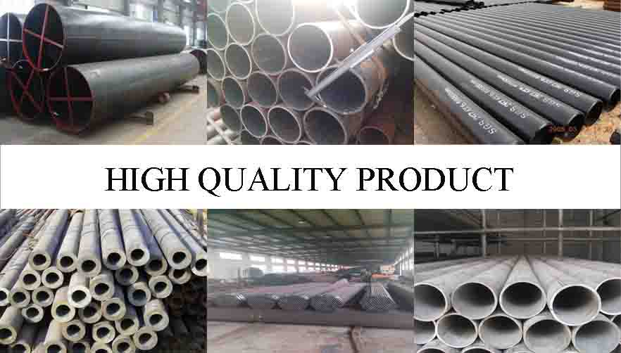 HIGH QUALITY PRODUCT OF PE Black paint and pipe cap  steel seamless pipes
