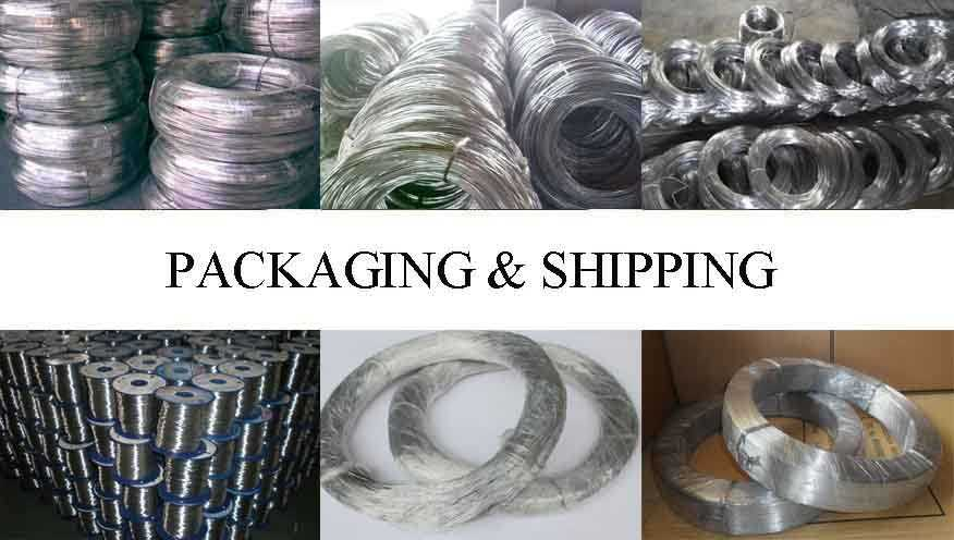 Packaging and shipping of aluminium wire rope ferrules with the best price made in China