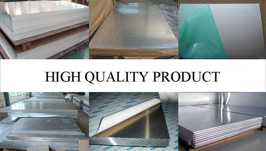 high quality of Aluminum sheet