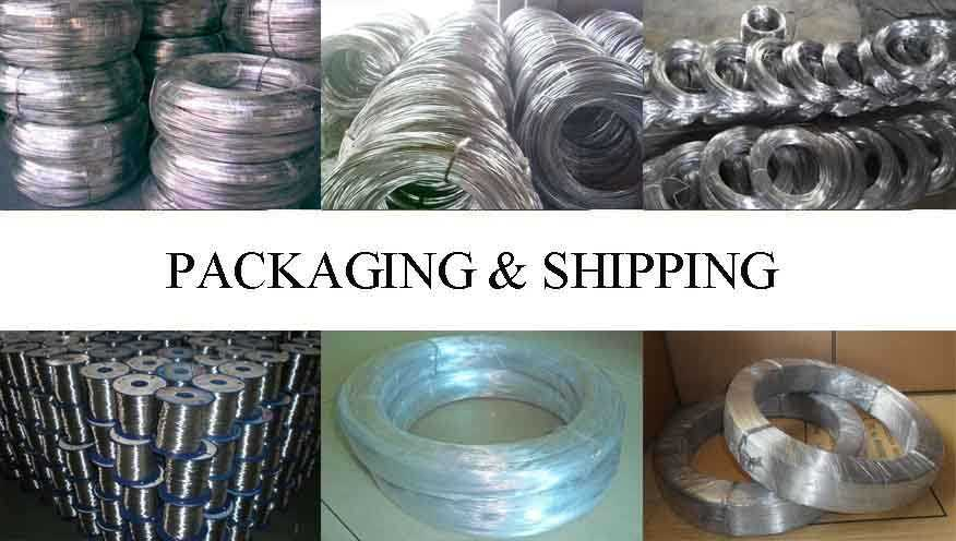 Packaging and shipping of original Chinese aluminium wire scrap