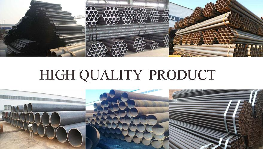 high quality of 235B ERW carbon steel pipe factory price