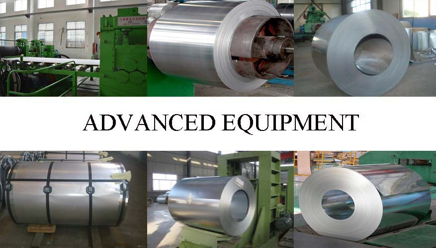 Equipment of galvanized steel coil manufacture in Vietnam