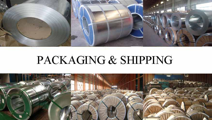 Packaging & Shipping of galvanized steel coil manufacture in Vietnam