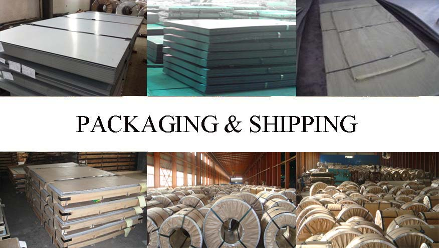 Packaging & Shipping of galvanized steel sheet manufacture in Vietnam