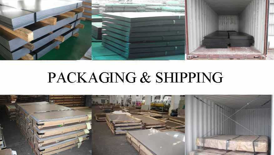 Packaging & Shipping of High quality steel plate supplier in Singapore