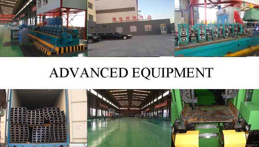 advanced equipment of High quality Steel Channel Supplier in China