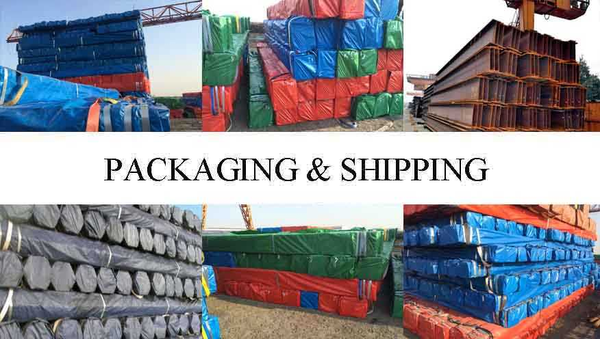 packing&shipping of High quality Steel Channel Supplier in China