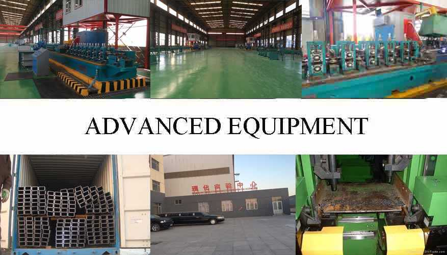 advanced equipment of Steel  Channel  Manufacturer in China