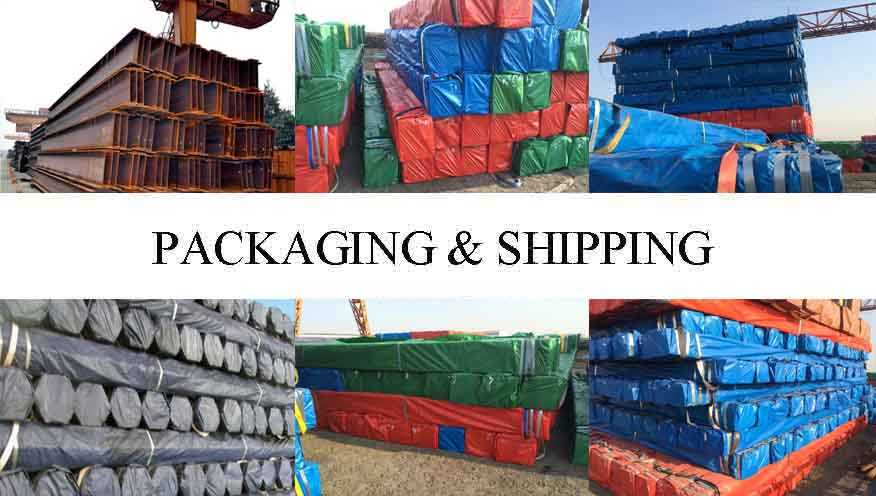 packing&shipping of wholesale  steel channel  manufacturer Ghana