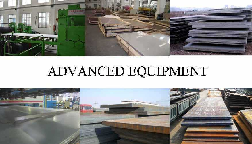 Equipment of Steel Plate manufacturer in Brunei