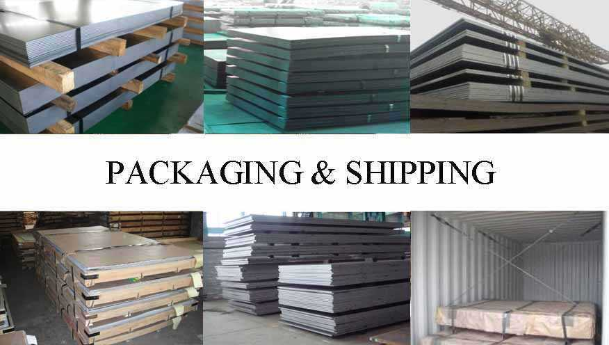 Packaging & Shipping of Steel Plate manufacturer in Brunei