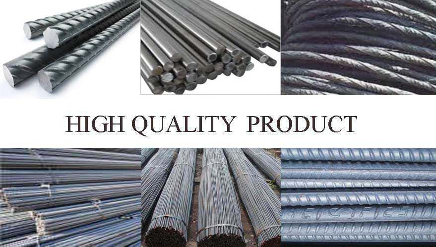 high quality products of Deformed Bar manufacturer in Pakistan