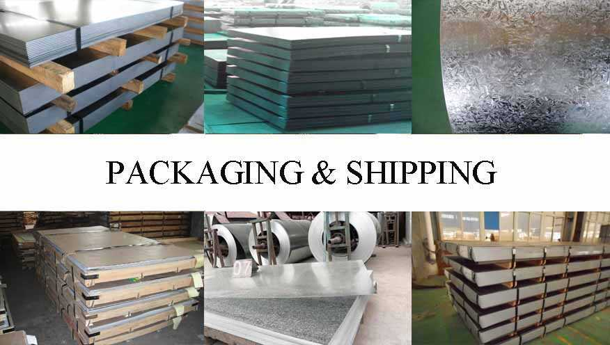 Packaging & Shipping of Steel Sheet Supplier in Malaysia