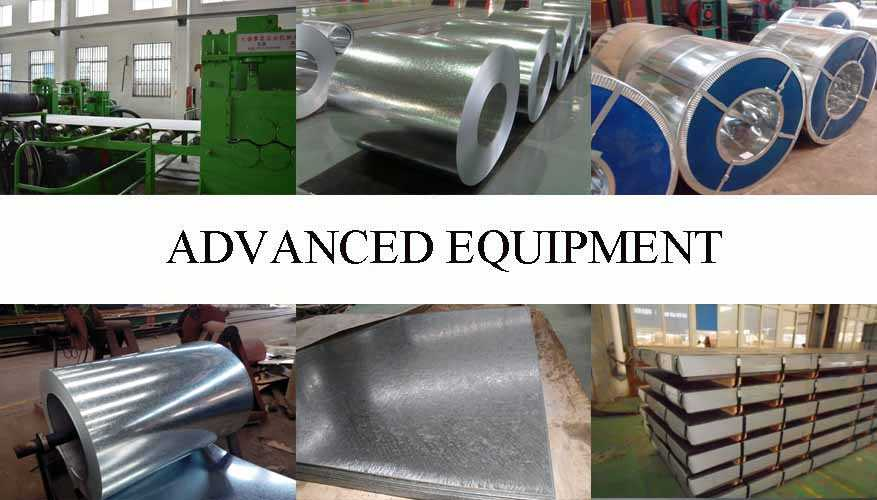 Equipment of Steel Sheet Supplier in Indonesia