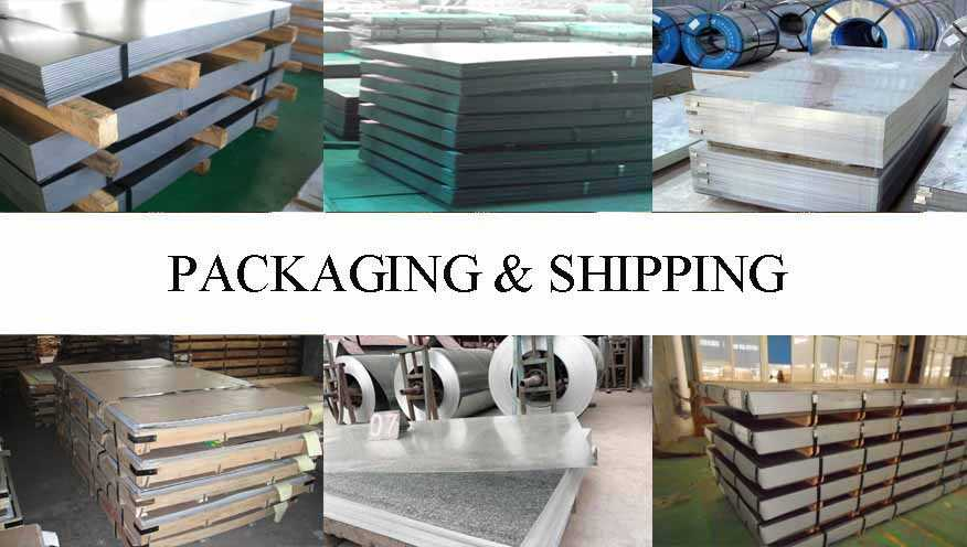 Packaging & Shipping of Steel Sheet Supplier in Indonesia