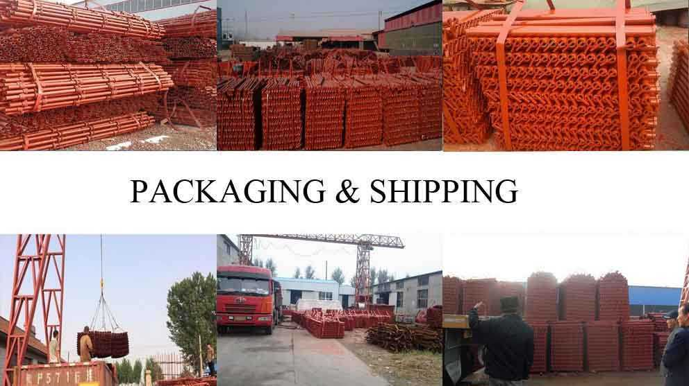 Packaging and shipping of Scaffolding Frame Supplier in Ghana