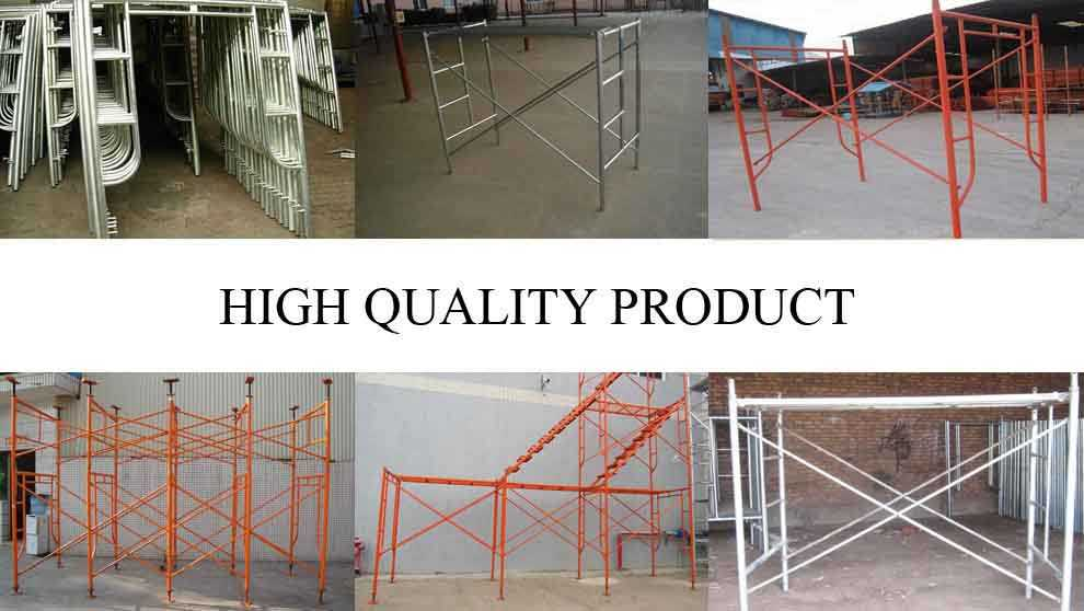 High quality product of Q275 Scaffolding Frame Supplier