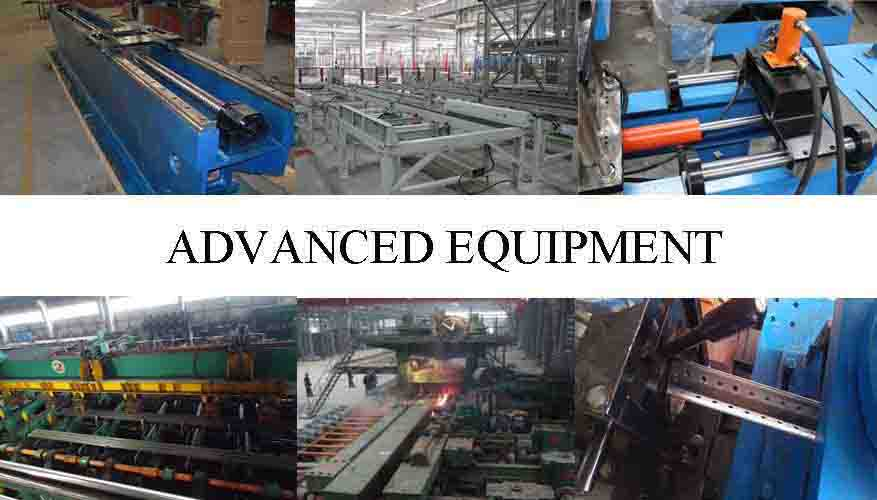 ADVANCE EQUIPMENT OF High quality Steel Angle bar factory