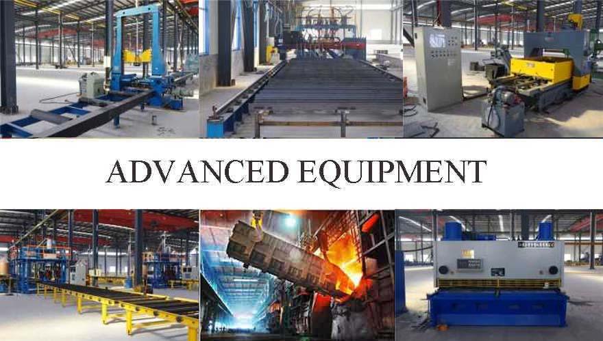 advanced equipment of galvanized steel beam manufacturer