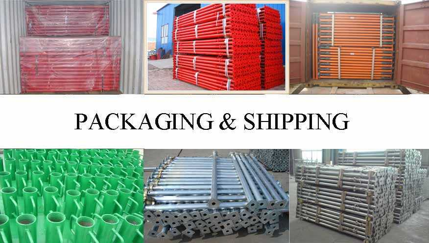 Packaging & Shipping of Scaffolding Prop Supplier in Myanmar
