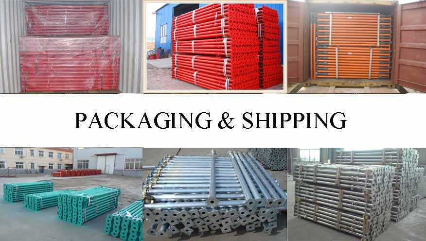 Packaging & Shipping of Scaffolding Prop Supplier in Turkey wholesale