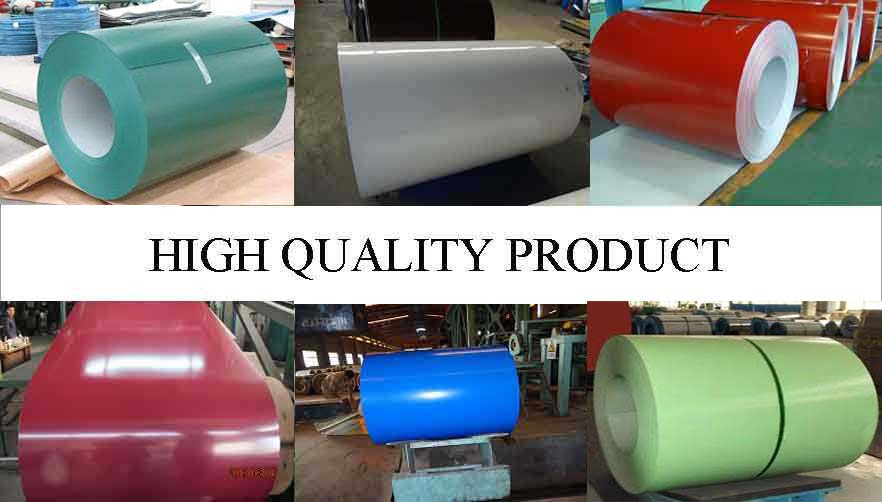 High Quality Product Of PPGI Steel Coil Manufacturer  in kenya